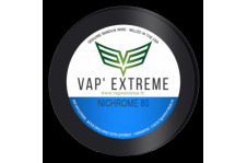 VAP'EXTREM Fil résistif NI80 36GA - 0,127 mm 10m
