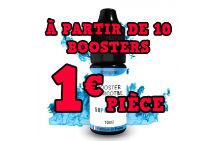 Booster de Nicotine 50 / 50 10ml